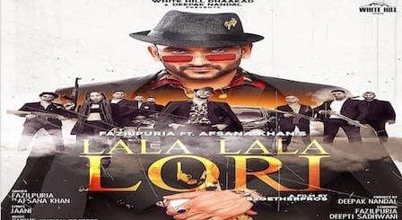 Lala Lala Lori Lyrics Fazilpuria x Afsana Khan