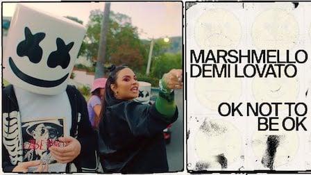 Ok Not To Be Ok Lyrics Demi Lovato   Marshmello