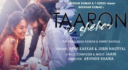 Taaron Ke Shehar Lyrics Neha Kakkar x Jubin Nautiyal