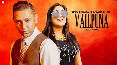 Vailpuna Lyrics Gippy Grewal x Afsana Khan
