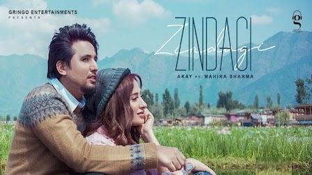 Zindagi Lyrics A Kay | Mahira Sharma