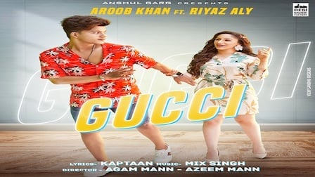 Gucci Lyrics Aroob Khan | Riyaz Aly