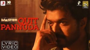 Quit Pannuda Lyrics Master | Anirudh Ravichander