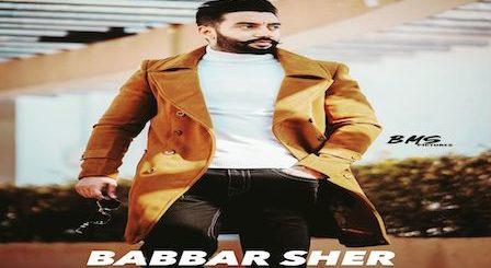Babbar Sher Lyrics Sippy Gill
