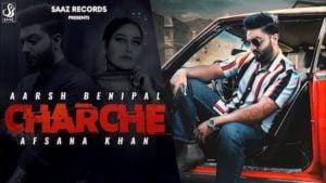Charche Lyrics Aarsh Benipal x Afsana Khan