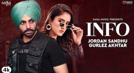 Info Lyrics Jordan Sandhu Gurlez Akhtar