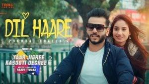 Dil Haare Lyrics YJKD | Pukhraj Bhalla