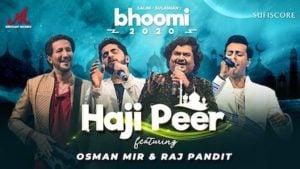 Haji Peer Lyrics Salim Merchant | Bhoomi (2020)