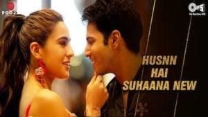 Husn Hai Suhana (New Song) Lyrics - Coolie No.1