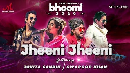 Jheeni Jheeni Lyrics Jonita Gandhi x Swaroop Khan