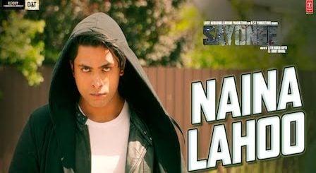 Naina Lahoo Lyrics Sayonee | Salman Ali