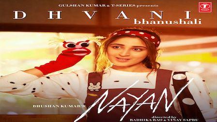 Nayan Lyrics Dhvani Bhanushali