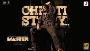 Chhoti Story Lyrics Vijay The Master