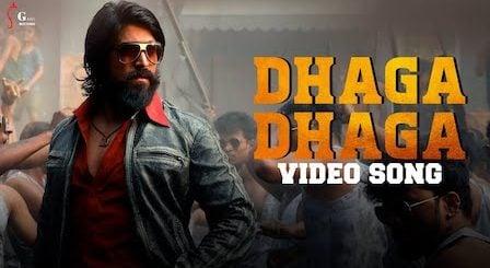 Dhaga Dhaga Lyrics KGF 2