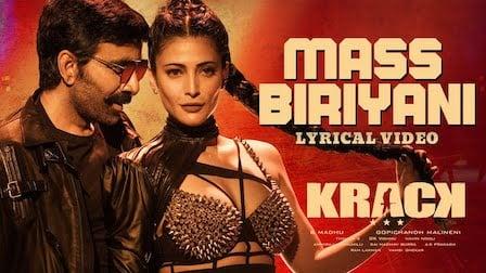 Mass Biriyani Lyrics Krack