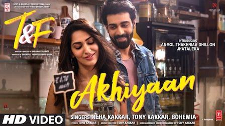 Akhiyaan Lyrics Tuesdays & Fridays | Neha Kakkar