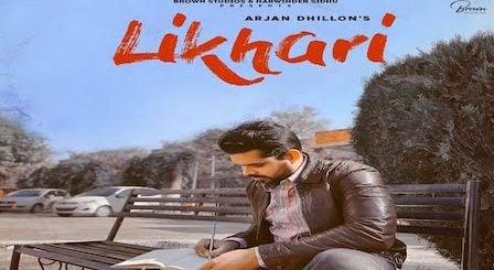 Likhari Lyrics Arjan Dhillon