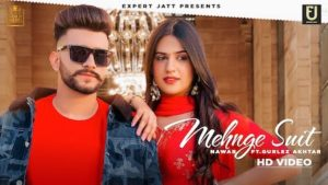 Mehnge Suit Lyrics Nawab