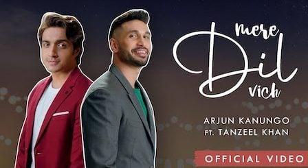 Mere Dil Vich Lyrics Arjun Kanungo x Tanzeel Khan