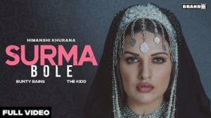 Surma Bole Lyrics Himanshi Khurana