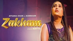 Zakham Lyrics Afsana Khan
