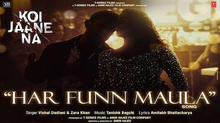 Har Funn Maula Lyrics Koi Jaane Na | Aamir Khan