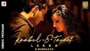 Kaabil-E-Tareef Lyrics Lekka x Gurnazar
