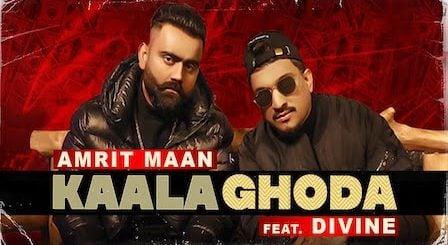 Kaala Ghoda Lyrics Amrit Maan x Divine