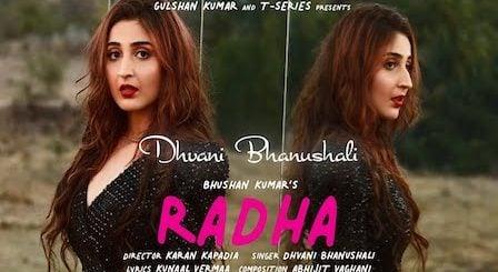 Radha Lyrics Dhvani Bhanushali