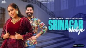Srinagar Waliye Lyrics Afsana Khan