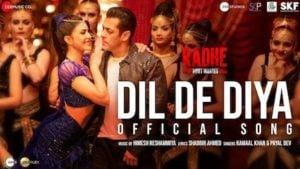 Dil De Diya Lyrics Radhe | Kamaal Khan x Payal Dev