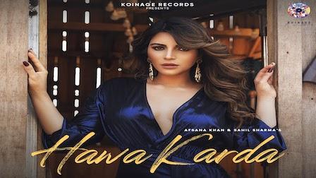 Hawa Karda Lyrics Afsana Khan