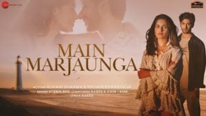 Main Marjaunga Lyrics Stebin Ben