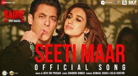 Seeti Maar Lyrics Radhe | Salman Khan