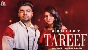 Tareef Lyrics Abhijay