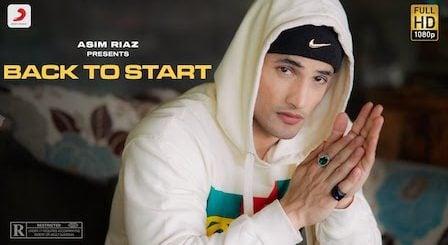 Back to Start Lyrics Asim Riaz