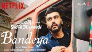 Bandeya Lyrics Sardar Ka Grandson | Divya Kumar