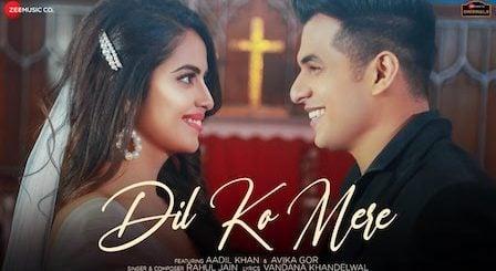 Dil Ko Mere Lyrics Rahul Jain | Aadil Khan, Avika Gor