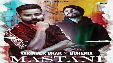 Mastani Lyrics Varinder Brar x Bohemia | Medusa