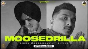 Moosedrilla Lyrics Sidhu Moose Wala x Divine