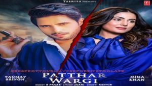 Patthar Wargi Lyrics Ranvir   Hina Khan x Tanmay Ssingh