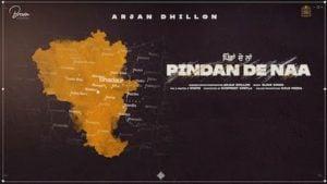 Pindan De Naa Lyrics Arjan Dhillon