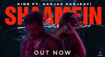 Shaamein Lyrics King   Harjas Harjaayi