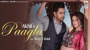 Paagla Lyrics Akhil