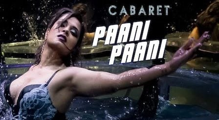 Paani Paani Lyrics Cabaret | Sunidhi Chauhan