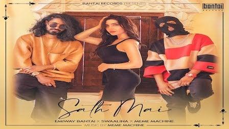 Sath Mai Lyrics Emiway   Meme Machine x Swaalina