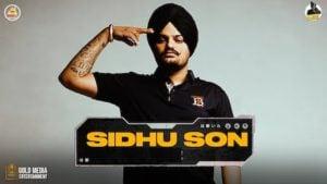 Sidhu Son Lyrics Sidhu Moose Wala