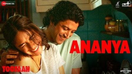Ananya Lyrics Toofaan | Arijit Singh