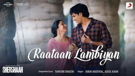 Raataan Lambiyan Lyrics Shershaah | Jubin Nautiyal