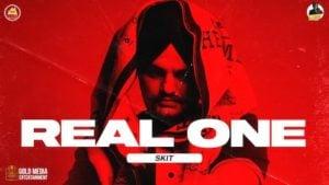 Real One (SKIT) Lyrics Sidhu Moose Wala